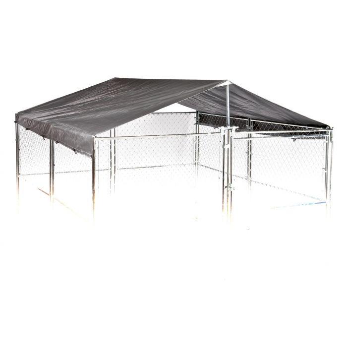 Lucky Dog® Universal  10'W x 10'L Kennel Cover w/Frame
